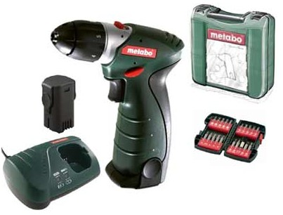 Шуруповерт Metabo PowerMaxx Li Basic
